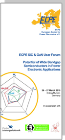 ECPE SiC & GaN User Forum: Potential of Wide Bandgap Semiconductors in Power Electronic Applications