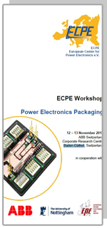 ECPE Workshop: Power Electronics Packaging