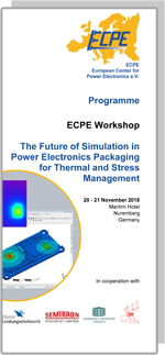 ECPE Workshop: The Future of Simulation in PE Packaging for Thermal and Stress Management