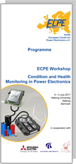 ECPE Workshop: Condition and Health Monitoring in Power Electronics