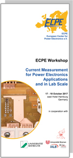 ECPE Workshop: Current Measurement for Power Electronics Applications and Lab Scale