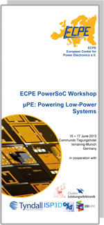 ECPE PowerSoC Workshop: μPE - Powering Low-Power Systems