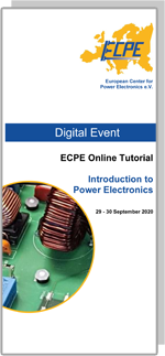 ONLINE | ECPE Online Tutorial: Introduction to Power Electronics