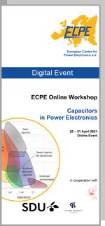 ONLINE | ECPE Online Workshop: Capacitors in Power Electronics