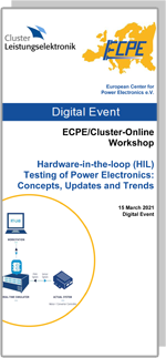 ONLINE | ECPE Online Workshop: Hardware in the Loop (HIL) Testing of Power Electronics: Concepts, Updates and Trends