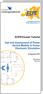 ECPE Tutorial: Use and Assessment of Power Device Models in Power Electronic Simulation