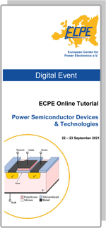 ONLINE | ECPE Online Tutorial: Power Semiconductor Devices & Technologies