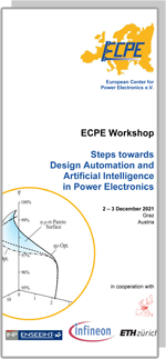 Hybrid Event   ECPE Workshop: Steps towards Design Automation and Artificial Intelligence in Power Electronics
