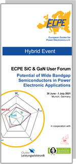 Hybrid Event | ECPE SiC & GaN User Forum: Potential of Wide Bandgap Semiconductors in Power Electronic Applications