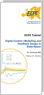 ECPE Tutorial: Digital Control | Modelling and Feedback Design in State-Space