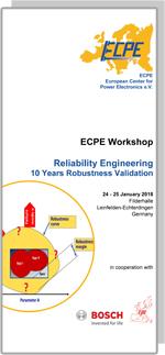ECPE Workshop: Reliability Engineering