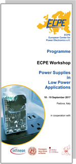 ECPE Workshop: Power Supplies in Low Power Applications