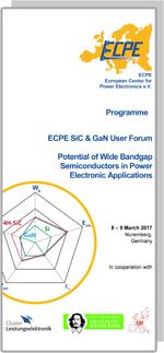 ECPE SiC & GaN User Forum: Potential of Wide Bandgap Semiconductors in PE Applications