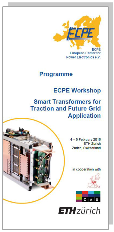 ECPE Workshop: Smart Transformers for Traction and Future Grid Application