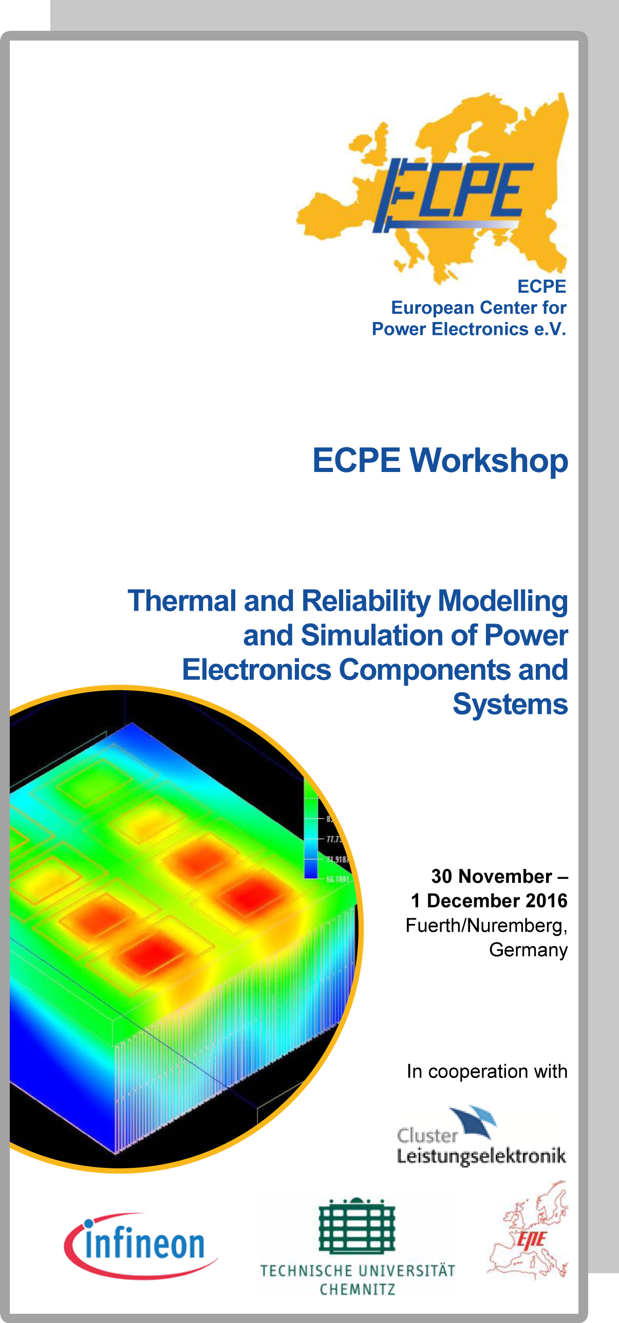 ECPE Workshop: Thermal and Reliability Modelling and Simulation of PE Components and Systems