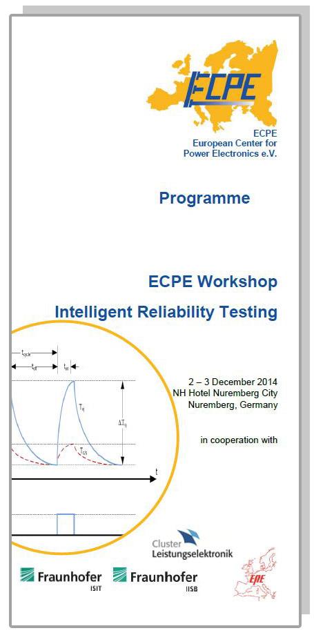 ECPE Workshop: Intelligent Reliability Testing