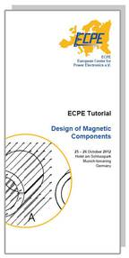 ECPE Tutorial: Design of Magnetic Components
