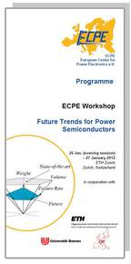 ECPE Workshop: Future Trends for Power Semiconductors