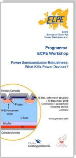 ECPE Workshop: Power Semiconductor Robustness