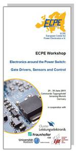 ECPE Workshop: Electronics around the Power Switch - Gate Drivers, Sensors and Control