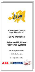 ECPE Workshop: Advanced Multilevel Converter Systems