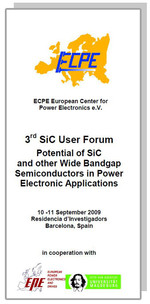 ECPE SiC & GaN User Forum: Potential of SiC and other Wide Bandgap Semiconductors in Power Electronic Applications