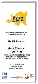 ECPE Workshop: More Electric Vehicles