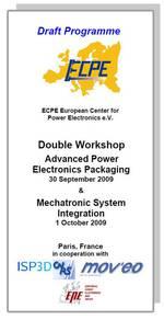 ECPE Workshop: Mechatronic System Integration