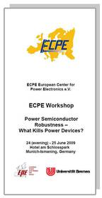 ECPE Workshop: Power Semiconductor Robustness – What Kills Power Devices?