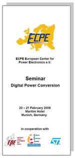 ECPE Workshop: Digital Power Conversion