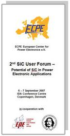 ECPE SiC & GaN User Forum: Potential of SiC in Power Electronic Applications