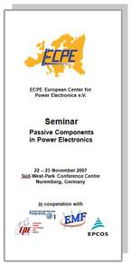 ECPE Workshop: Passive Components in Power Electronics