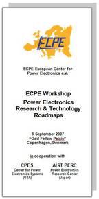 ECPE Workshop: Power Electronics Research & Technology Roadmaps