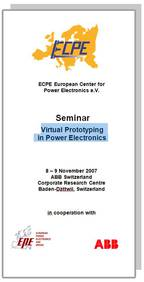 ECPE Workshop: Virtual Prototyping in Power Electronics