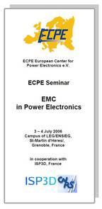 ECPE Workshop: EMC in Power Electronics