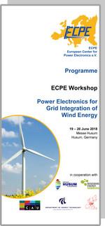 ECPE Workshop: Power Electronics for Grid Integration of Wind Energy