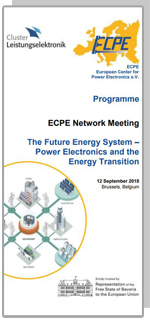 ECPE Network Meeting: The Future Energy System – Power Electronics and the Energy Transition