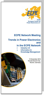 ECPE Network Meeting: Trends in Power Electronics and in the ECPE Network