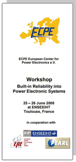 ECPE Workshop: Built-in Reliability into Power Electronic Systems